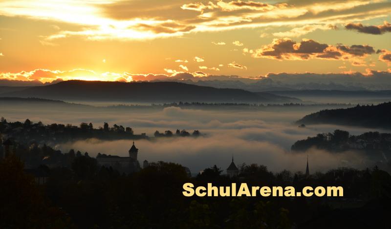 Abendstimmung Schaffhausen